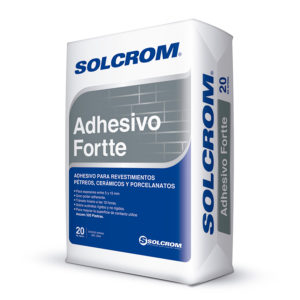 Solcrom Adhesivo Fortte