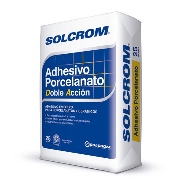 Solcrom Adhesivo DA Porcelanato