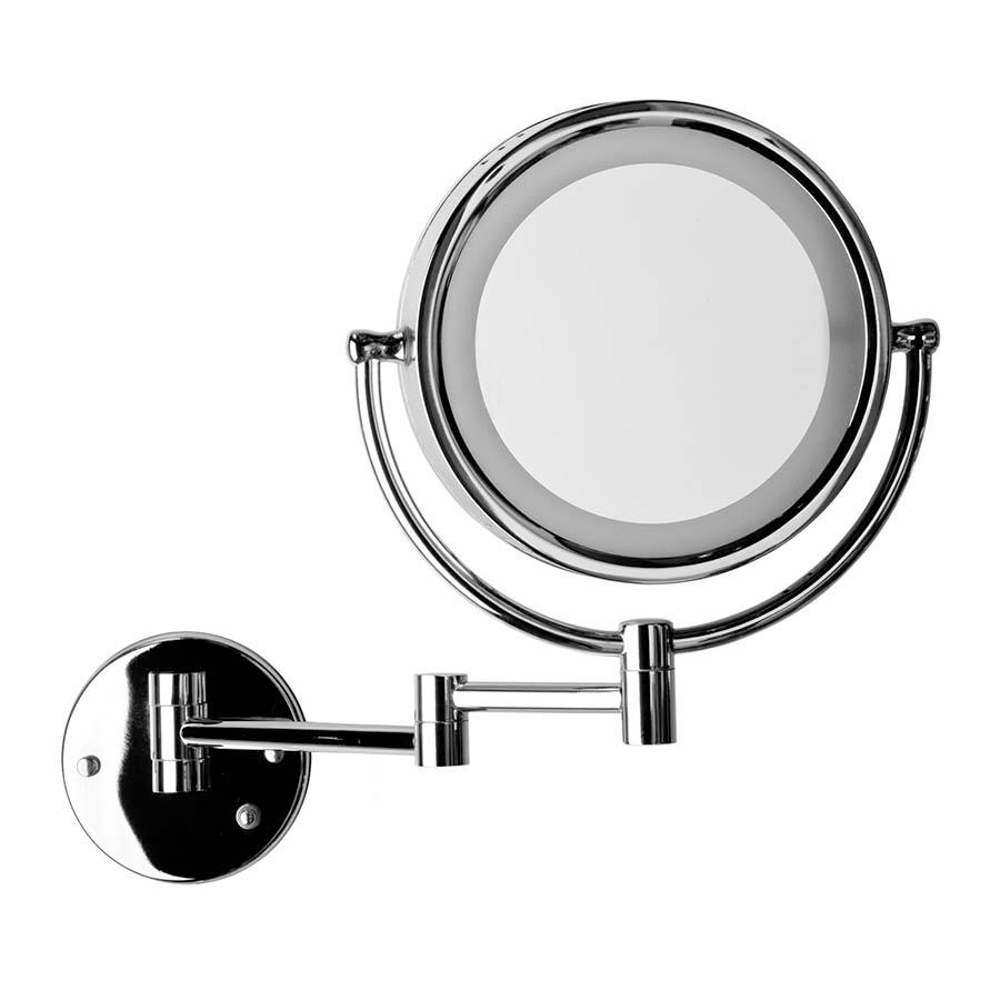 Espejo Bano Aumento Con Luz.Espejo Aumento Neike Chc Salas De Bano Y Revestimientos