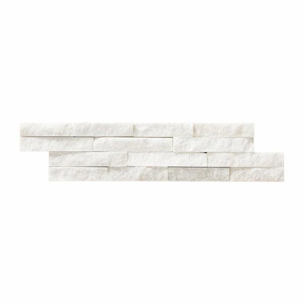 Front Quartzita Blanca 10x40