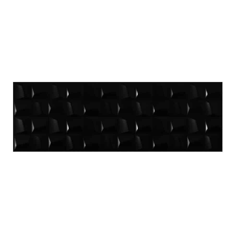 Cubic Negro Mate 30x90